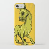 great dane iPhone & iPod Cases featuring Great Dane by wahyudi77
