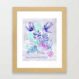 Summertime Kingdom Framed Art Print