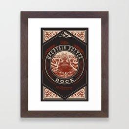 Mountain Buster Bock   FFXIV Framed Art Print