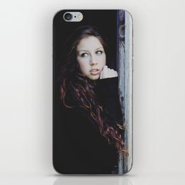 Darkness the light. iPhone Skin