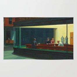Nighthawks by Edward Hopper Rug