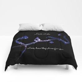 Stars - Arabic Typography Comforters