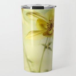 Yellow Columbines Travel Mug