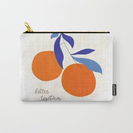 Darling Clementines Better Together Carry-All Pouch