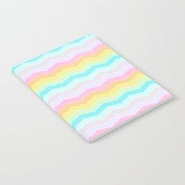 Pastel Stripes Notebook