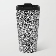 total confusion Metal Travel Mug