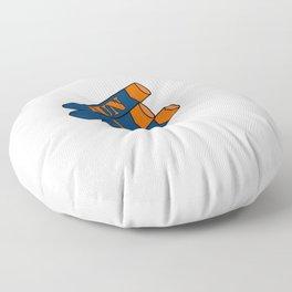 Fun 4 Real Logo Floor Pillow