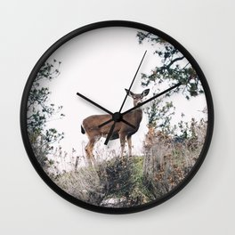 Ohh Deer! Wall Clock