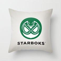 Starboks! Throw Pillow
