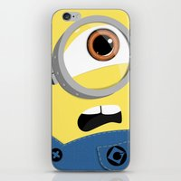 minion iPhone & iPod Skins featuring Minion by Janice Wong