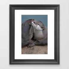 Big Hugs Framed Art Print