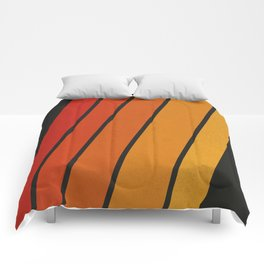 Retro 70s Stripes Comforters