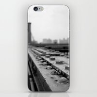 brooklyn bridge iPhone & iPod Skins featuring Brooklyn Bridge by Alane Gianetti