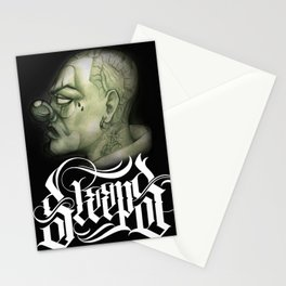 SLEEPS CLOWN Stationery Cards