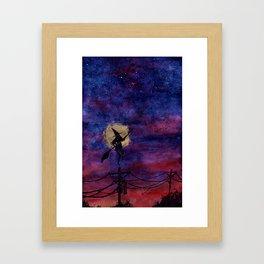The Hours Inbetween II Framed Art Print