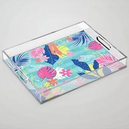 Tropical Vibes Acrylic Tray