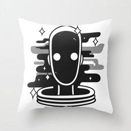 VOID BOY Throw Pillow