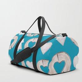 Xmas Classics Teal Duffle Bag