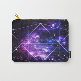 galaxy sacred geometry Carry-All Pouch