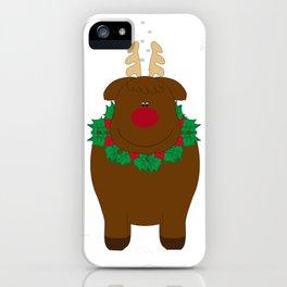 Reindeer  iPhone Case