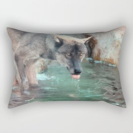 Thirsty Like the Wolf Rectangular Pillow