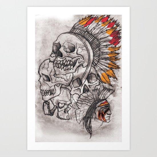 The Savage Art Print