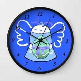 Blue Bell on Blue Wall Clock
