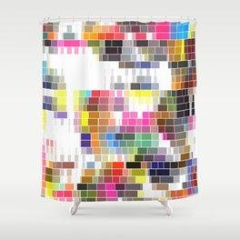 Lovely Raster No. 1 Shower Curtain
