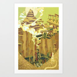 A Journey Art Print
