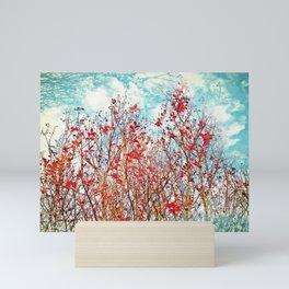 I Scratch the Sky Mini Art Print