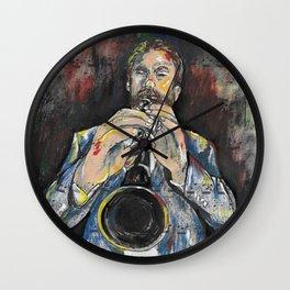 Jazz Clarinet 1 Wall Clock