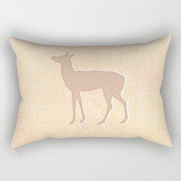 doe in Autumn colour Rectangular Pillow