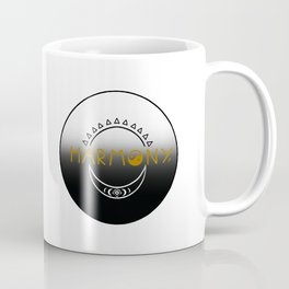 Sun and Moon Harmony Emblem Coffee Mug