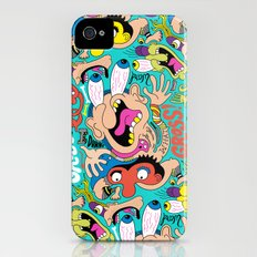 Weird Pattern iPhone (4, 4s) Slim Case