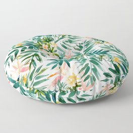 VACAY VIBES Tropical Palm Floor Pillow