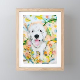The Unconditional Love of Dogs Framed Mini Art Print