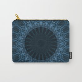 Pastel blue mandala Carry-All Pouch