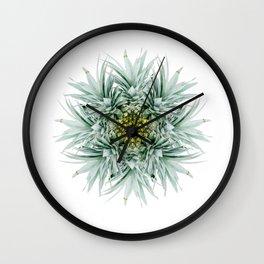 Mandala Pineapple Wall Clock