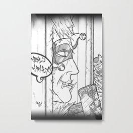 Here's Harley! Metal Print
