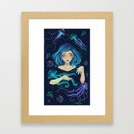 Calypso by Ane Teruel Framed Art Print