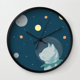 Dreaming about Space Wall Clock