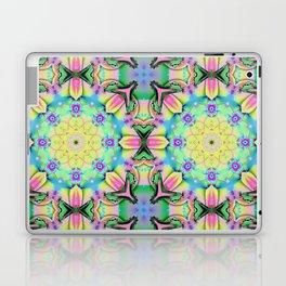 Summer feelings, colourful kaleidoscope design Laptop & iPad Skin