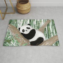 Sleeping Panda Rug