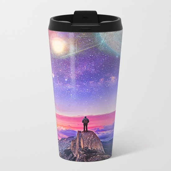 Whatever's Out There Metal Travel Mug