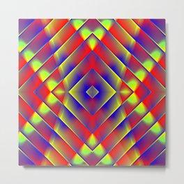 Garish  Pattern 7 Metal Print
