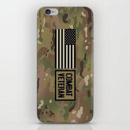 Combat Veteran (Camouflage) iPhone Skin