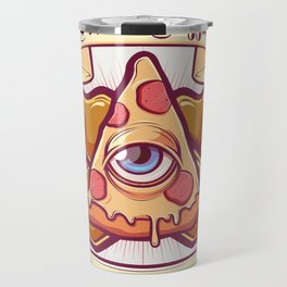 Pizza is my religion Travel Mug