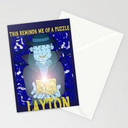 Layton Raiser Stationery Cards