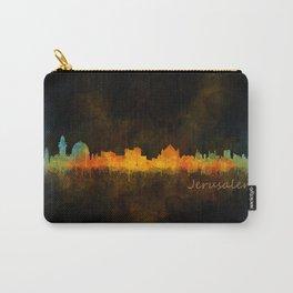 Jerusalem City Skyline Hq v4 Carry-All Pouch