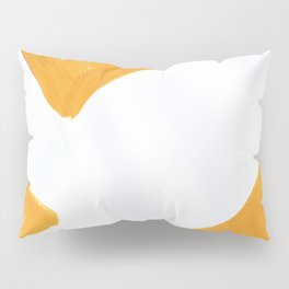 The Crown of Basquiat, Abstract, Selective Yellow Pillow Sham